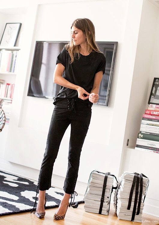 Le Fashion Blog Morgane Bedel Parisian Spring Style Black On Black Tee Lace Up Leather Pants Leopard Pumps Via Garance Dore photo Le-Fashion-Blog-Morgane-Bedel-Parisian-Spring-Style-Black-On-Black-Tee-Lace-Up-Leather-Pants-Leopard-Pumps-Via-Garance-Dore.jpg