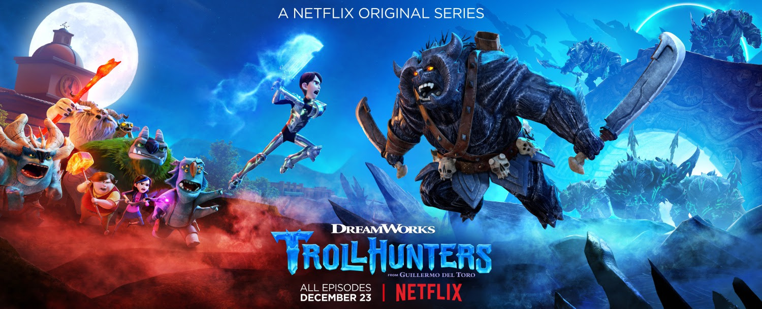Extra Large Movie Poster Image for Trollhunters (#12 of 18)