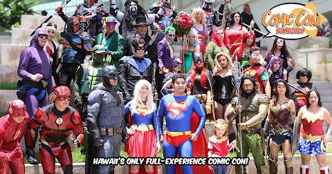 Amazing Comic Con Hawaii 2018