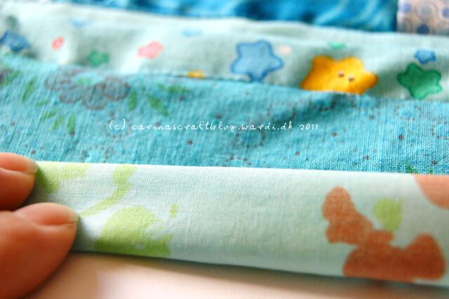 Tutorial: quilt self binding step 4
