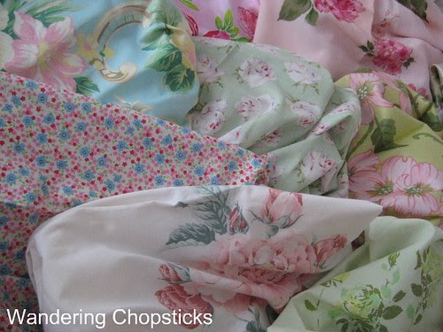 Frowsy Flowery Quilt 5