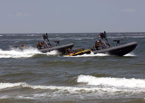 Naval Special Warfare RHIB