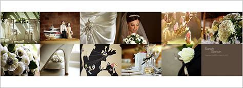 Gaynes Park wedding photography: Wedding book design