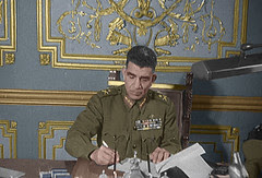 President Naguib in office