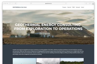 Geothermal.is â€