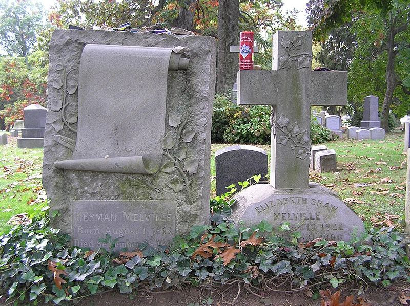 File:Herman Melville Headstone 1024.jpg