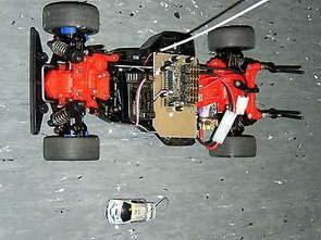 Xe điều khiển PIC16F877 với PIC16F628 Jumbo 2