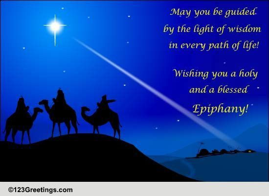 Light Of Wisdom Free Epiphany eCards, Greeting Cards  123 Greetings