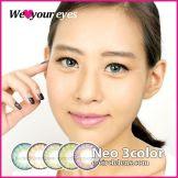 Neo 3 Color Contacts  at e-circlelens.com