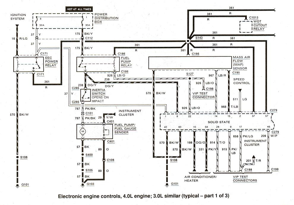 1990 Ford Ranger 4 0 Wiring Diagram Wiring Diagram Browse A Browse A Cfcarsnoleggio It