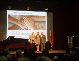 La Fundació Comtal va ser la guanyadora del Premi Voluntariat de l'edició 2015