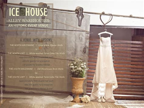The Ice House Alley Warehouses  Jackson, Ms Wedding Venue