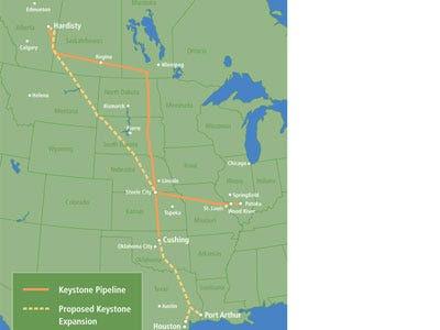 North America: Keystone Pipeline
