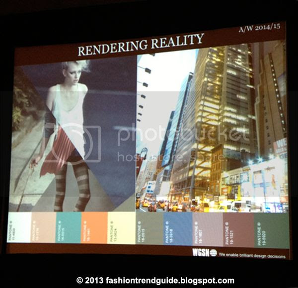 Rendering Reality fashion trend fall 2014 winter 2015