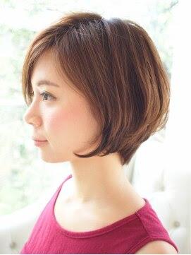 【2016年春版】ショート 30代のヘアスタイル・髪型|BIGLOBE  - ヘアカタログ 30代 ショート
