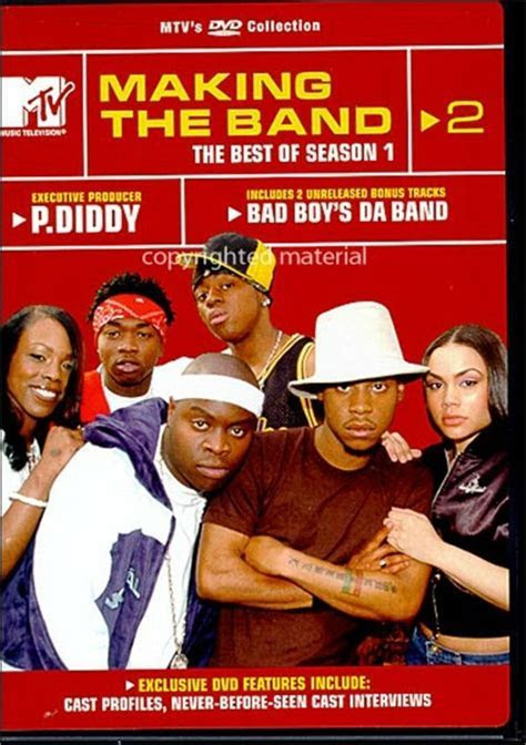 Making The Band 2: The Best Of Season 1 (DVD 2002)   DVD