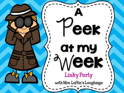 Mrs. Laffin's Laughings: A Peek at My Week {September 15, 2013}