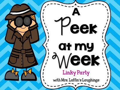 Mrs. Laffin's Laughings: A Peek at My Week {September 15, 2013}