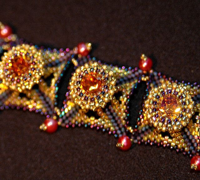 Creation and Innovation in Dimensional Beadwork with Laura McCabe by John C. Campbell Folk School, via Flickr | Visit us at www.folkschool.org to find out more about our classes & events