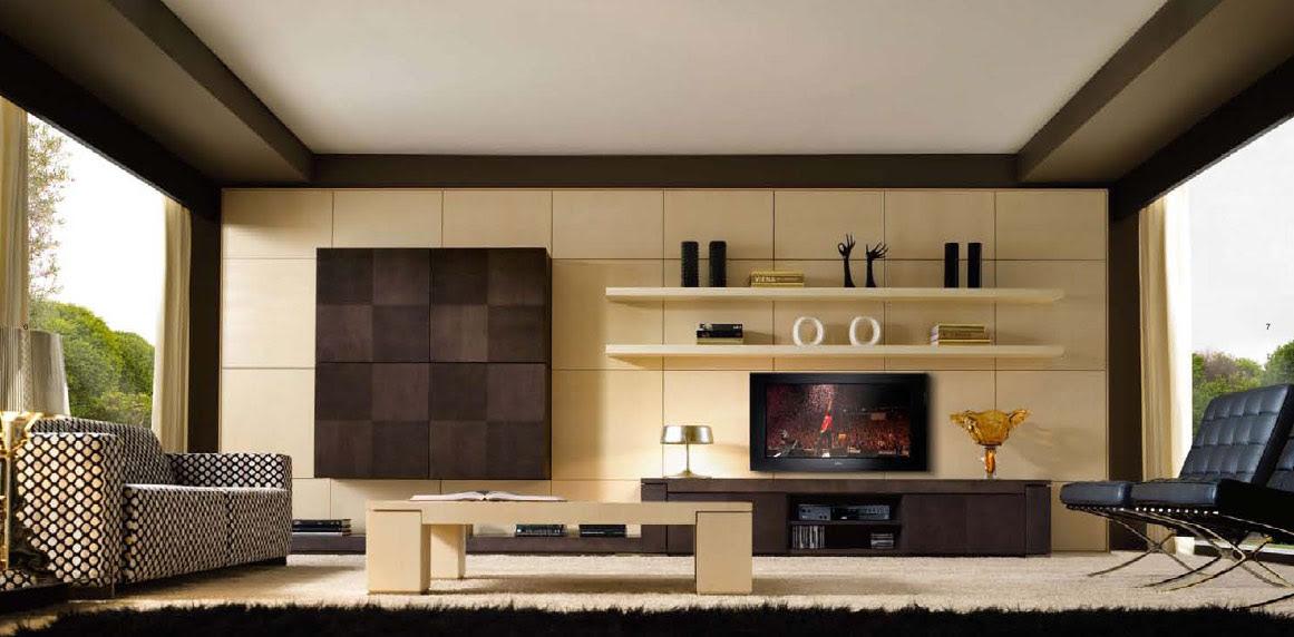Modern & Art Deco Living Rooms