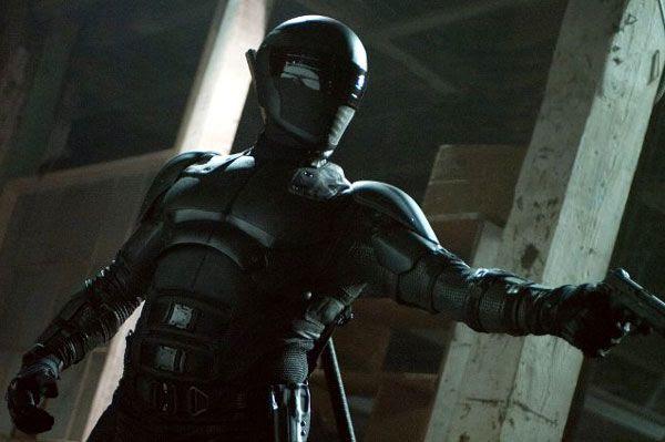 Snake Eyes (Ray Park) embarks on a secret mission in G.I. JOE: RETALIATION.
