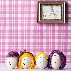 Easter Egg Family