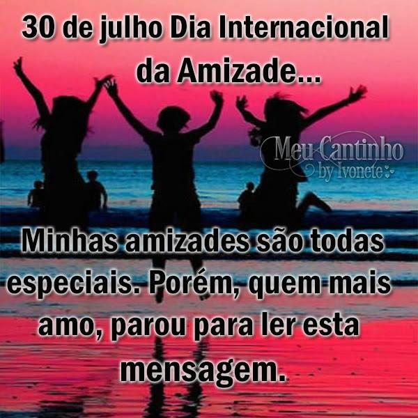 Dia Internacional da Amizade Imagem 2