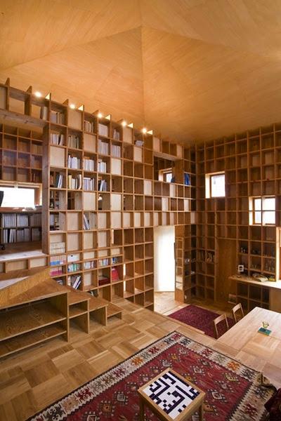 """perierga.gr - Ονειρεμένα σπίτια """"τιμούν"""" την αγάπη για τα βιβλία!"""