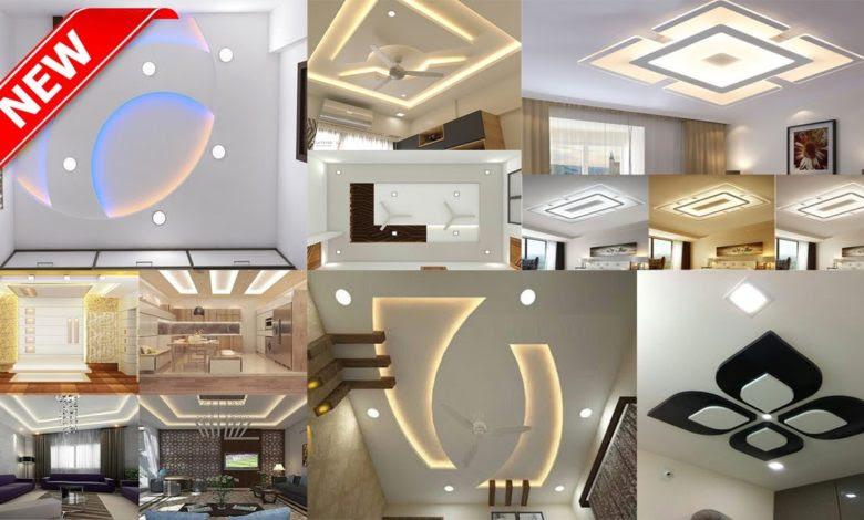 Top 50 Modern Beautiful False Gypsum Ceiling Designs Ideas Home Pictures