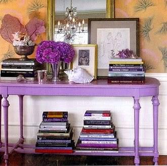 Purple Table