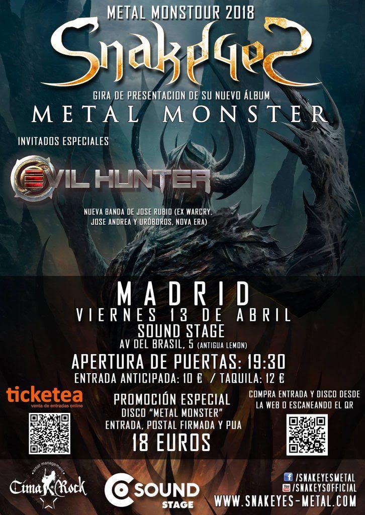 SnakedeS Madrid