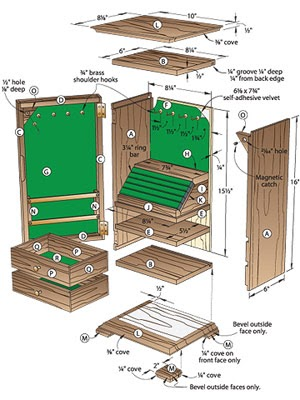 This Is Free Simple Jewelry Box Plans Lebouf