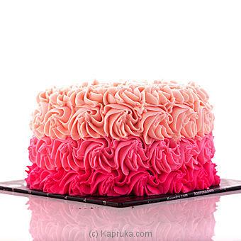 Buy Swirly Rose Ribbon Cake Cake - Kapruka