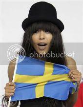 Eurovision winner Loreen: click for website