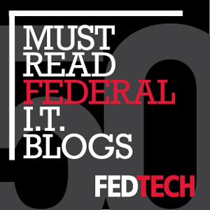 Federal Technology Blogger Badge 300px