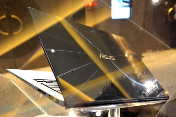 ASUS Zenbook Infinity with Gorilla Glass 3 lid unveiled