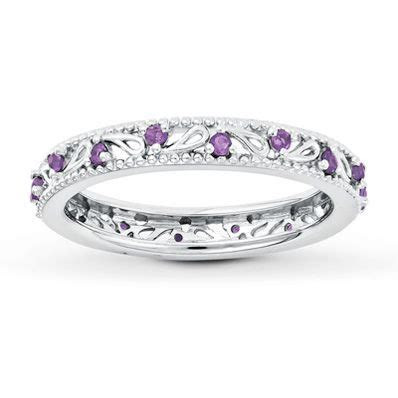 Stackable Ring Amethyst Sterling Silver   My wish list