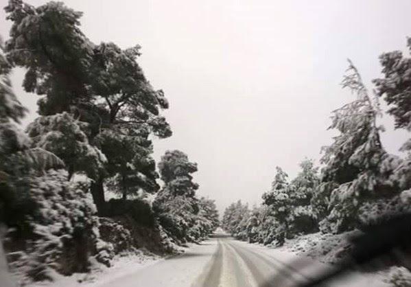 Χιονίζει από Θήβα έως Ξάνθη!!!