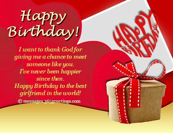 Cute Birthday Wishes For Girlfriend In English Happy Birthday