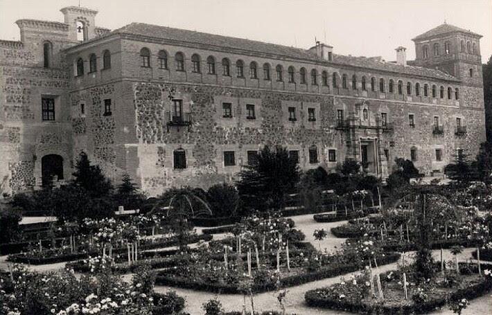 Monasterio de San Bernardo o de Monte Sión en Toledo en 1925