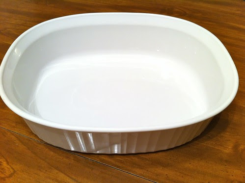 Corning Ware French White Roasting Pan