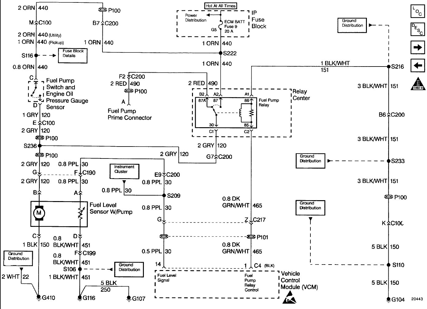 96 Chevy Wiring Diagram