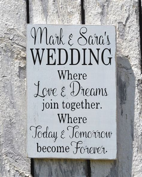 Rustic Wedding Sign Welcome Personalized Signs For