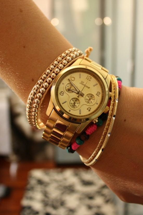 love this arm party