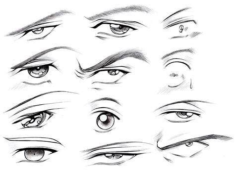 draw male eyes part  manga university campus store