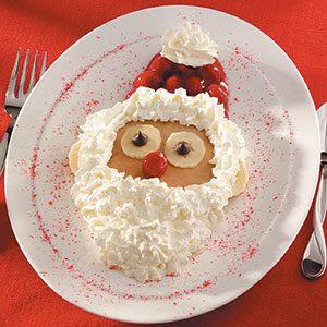 Santa Pancakes Recipe