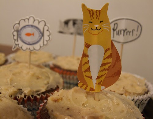 Purrrfect Cupcakes for Cat Lovers