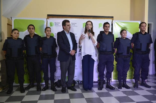 Vidal y Ritondo anuncian el plan de Seguridad de la Provincia