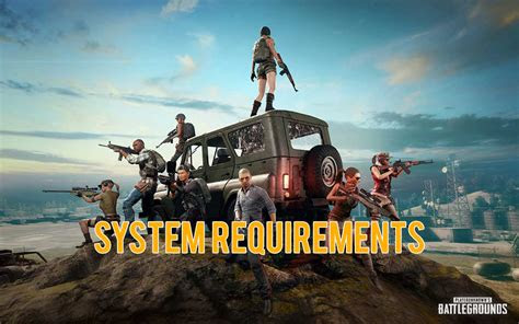 pubg mobile system requirements  android  ios