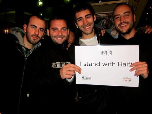 Standing with Haiti